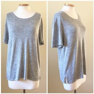 Wilfred Free Gray Short Sleeve T Shirt Blouse